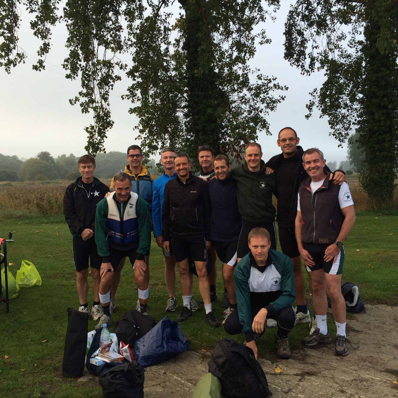 Long distance row 2016 Oxford back to Maidenhead